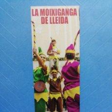 Coleccionismo Marcapáginas: MARCAPAGINAS LA MOIXIGANGA FESTA TARDOR 2019 DE LLEIDA. Lote 249191420