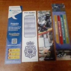 Coleccionismo Marcapáginas: 4 MARCAPÁGINAS POLICÍA NACIONAL. Lote 251598605