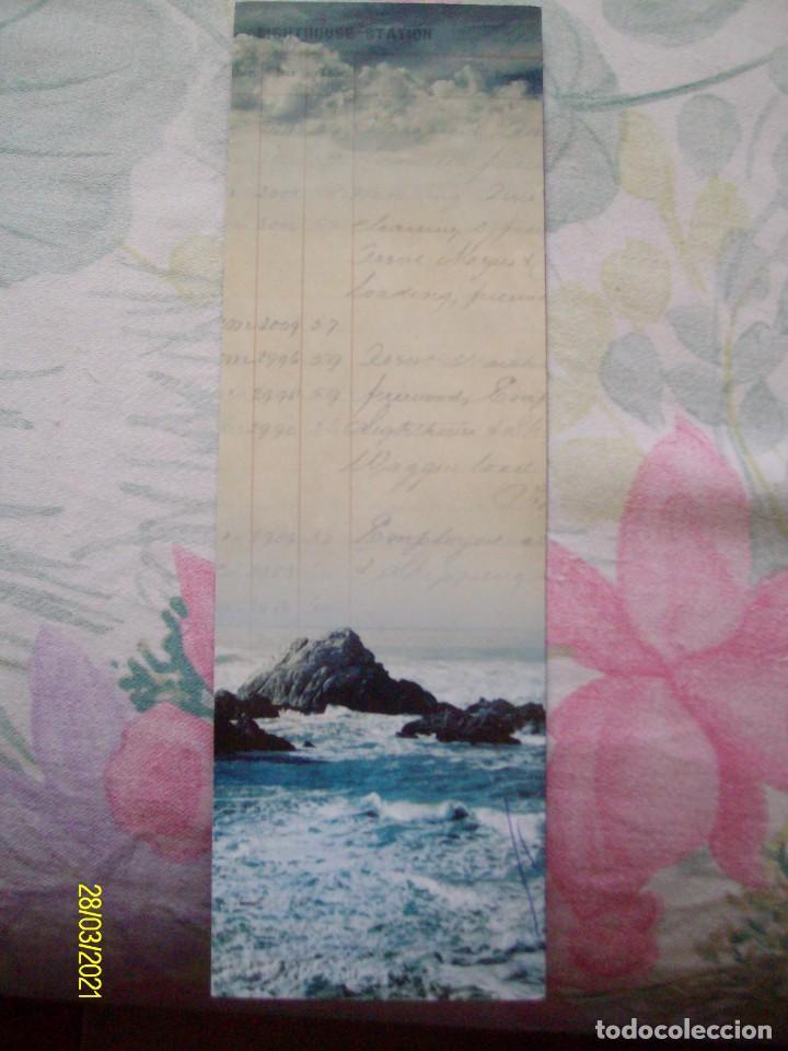 MARCAPAGINAS LA LUZ ENTRE LOS OCEANOS M. L. STEDMAN EDICIONES SALAMANDRA (Coleccionismo - Marcapáginas)
