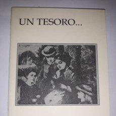 Coleccionismo Marcapáginas: FOLLETO LIBRITO DE ANIMACIÓN LECTURA UN TESORO INFINITO DÍA LIBRO 23 ABRIL IES LOS ALBARES LEER CUEN. Lote 251933490
