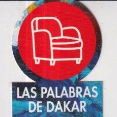 Coleccionismo Marcapáginas: MARCAPÁGINAS DE EDICIÓN DE PUNTO DE LECTURA UNA NOVELA APASIONANTE. Lote 252966445