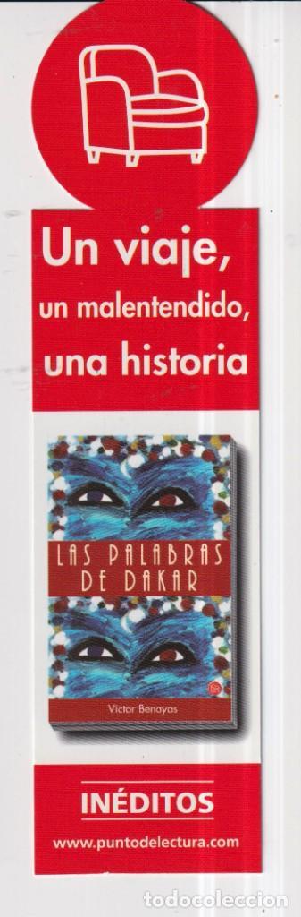 Coleccionismo Marcapáginas: Marcapáginas de Edición de Punto de Lectura una novela apasionante - Foto 2 - 252966445