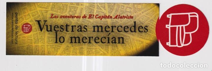 Coleccionismo Marcapáginas: Marcapáginas de Edición de Punto de Lectura vuestras mercedes lo merecían - Foto 2 - 252966780