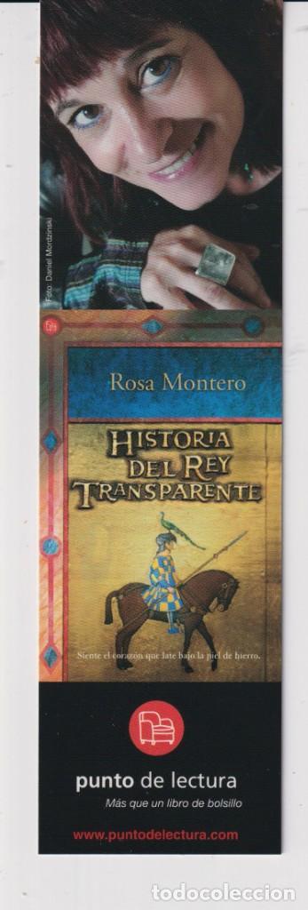 MARCAPÁGINAS DE EDICIÓN DE PUNTO DE LECTURA DE HISTORIA DEL REY TRANSPARENTE (Coleccionismo - Marcapáginas)