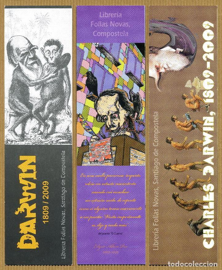 3 MARCAPAGINAS FOLLAS NOVAS (Coleccionismo - Marcapáginas)
