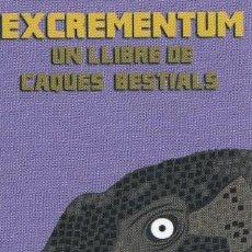 Coleccionismo Marcapáginas: MARCAPÁGINAS EDITORIAL VIENA EXCREMENTUM ( 5 ). Lote 288485478