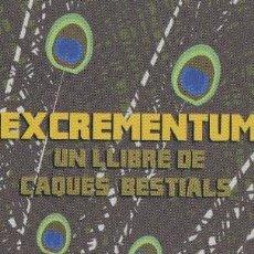 Coleccionismo Marcapáginas: MARCAPÁGINAS EDITORIAL VIENA EXCREMENTUM ( 2 ). Lote 288485533