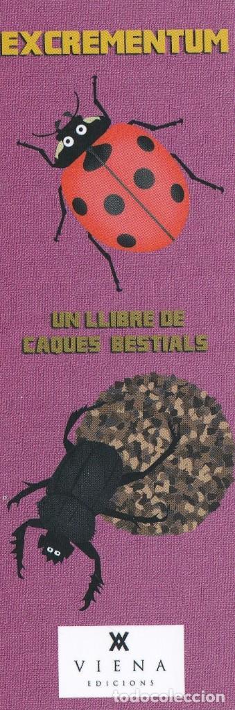 MARCAPÁGINAS EDITORIAL VIENA EXCREMENTUM ( 4 ) (Coleccionismo - Marcapáginas)