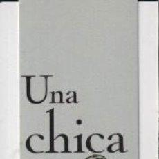 Coleccionismo Marcapáginas: MARCAPÁGINAS DE EDITORES DE NORMA TÍTULO UNA CHICA DIOR. Lote 257430790