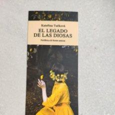 Coleccionismo Marcapáginas: MARCAPÁGINAS - PERIFÉRICA & ERRATA NATURAE - EL LEGADO DE LAS DIOSAS - KATERINA TUCKOVA. Lote 257486385