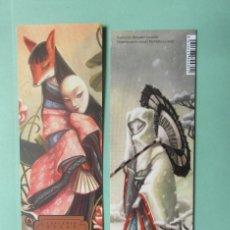 Coleccionismo Marcapáginas: MARCAPÁGINAS EDITORIAL EDELVIVES ESPIRITUS Y CRIATURAS DE JAPON. Lote 277306013