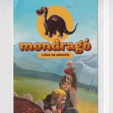 Coleccionismo Marcapáginas: MARCAPÁGINAS EDITOR DESTINI TUTULO MONDRAGÓ CRIAS DE DRAGÓN. Lote 261566475