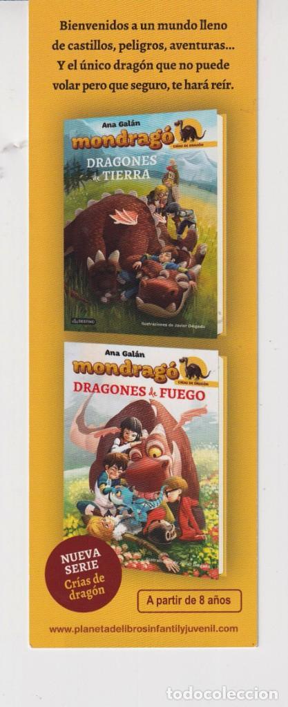 Coleccionismo Marcapáginas: MARCAPÁGINAS EDITOR DESTINI TUTULO MONDRAGÓ CRIAS DE DRAGÓN - Foto 2 - 261566475
