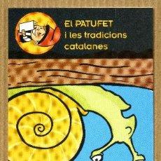 Coleccionismo Marcapáginas: MARCAPAGINAS EDICIONS COSSETANIA - LA CARAGOLADA. Lote 261996280