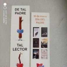 Coleccionismo Marcapáginas: MARCAPÁGINAS - PENGUIN - 19 DE MARZO DÍA DEL PADRE. Lote 262302540