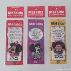 Coleccionismo Marcapáginas: MARCAPAGINAS MAFALDA. Lote 264119445