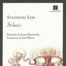 Colecionismo Marcadores de página: MARCAPÁGINAS FORMATO POSTAL EDITORIAL IMPEDIMENTA SOLARIS. Lote 265426924
