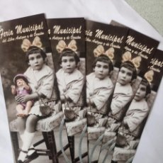 Coleccionismo Marcapáginas: 5 MARCAPAGINAS FERIA DEL LIBRO SALAMANCA. Lote 266263283