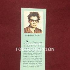 Coleccionismo Marcapáginas: MARCAPAGINAS LITERATURA ASTURIANA, BIOGRAFIA Y TEXTO OBRA DE MARIA JOSEFA CANELLADA, 1997. Lote 268906914