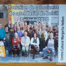 Coleccionismo Marcapáginas: JUEGO 5 MARCAPAGINAS REUNION COSLADA 2020. Lote 268914134