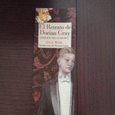 Coleccionismo Marcapáginas: MARCAPAGINAS. REINO DE CORDELIA. OSCAR WILDE. EL RETRATO DE DORIAN GRAY. Lote 269985788
