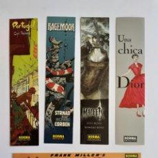 Coleccionismo Marcapáginas: MARCAPÁGINAS, PUNTOS DE LIBRO, NORMA EDITORIAL, MALEFIC, RAGEMOOR, PORTUGAL, .... Lote 270607418