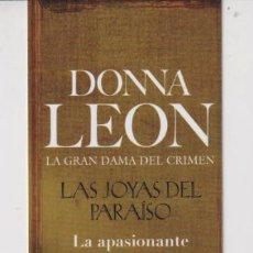 Coleccionismo Marcapáginas: MARCAPÁGINAS EDITOR SEIX BARRAL TUTULO LAS JOYAS DEL PARAISO. Lote 270955403