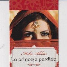Coleccionismo Marcapáginas: MARCAPÁGINAS EDITOR ROCA TUTULO LA PRINCESA PERDIDA. Lote 270955738