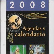 Coleccionismo Marcapáginas: MARCAPÁGINAS EDITOR OBELISCO TUTULO CALENDARIOS 2008. Lote 271010718