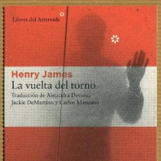 Collectionnisme Marque-pages: MARCAPAGINAS POSTAL LIBROS DEL ASTEROIDE - LA VUELTA DEL TORNO. Lote 276715763