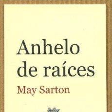 Coleccionismo Marcapáginas: MARCAPAGINAS GALLO NEGRO - ANHELO DE RAICES. Lote 276958493