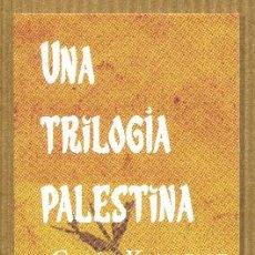 Coleccionismo Marcapáginas: MARCAPAGINAS HOJA DE LATA - UNA TRILOGIA PALESTINA. Lote 276958528