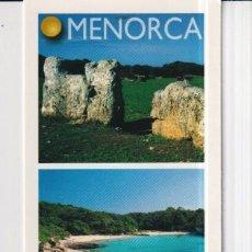 Coleccionismo Marcapáginas: MARCAPÁGINAS EDITOR LLUM DEL MEDITERANEO TUTULO DE MENORCA. Lote 277635133