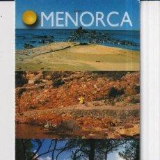 Coleccionismo Marcapáginas: MARCAPÁGINAS EDITOR LLUM DEL MEDITERANEO TUTULO DE MENORCA. Lote 277635518