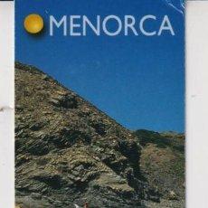 Coleccionismo Marcapáginas: MARCAPÁGINAS EDITOR LLUM DEL MEDITERANEO TUTULO DE MENORCA. Lote 277635723