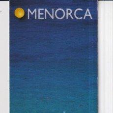Coleccionismo Marcapáginas: MARCAPÁGINAS EDITOR LLUM DEL MEDITERANEO TUTULO DE MENORCA. Lote 277635968
