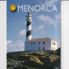 Coleccionismo Marcapáginas: MARCAPÁGINAS EDITOR LLUM DEL MEDITERANEO TUTULO DE MENORCA. Lote 277636088
