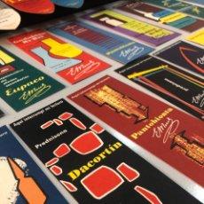 Coleccionismo Marcapáginas: LOTE PUNTOS DE LIBRO AÑOS 50. PERFECTO ESTADO MARCAPAGINAS MARCA PAGINAS DE LECTURA. Lote 278213373