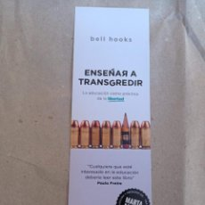 Collectionnisme Marque-pages: MARCAPÁGINAS. CAPITÁN SWING. BELL HOOKS. ENSEÑAR A TRANSGREDIR. Lote 278824808