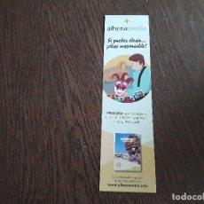 Coleccionismo Marcapáginas: MARCAPÁGINAS, PUNTO DE LIBRO, GUIAS RESPONSABLES PARA VIAJES. ALHENAMEDIA.. Lote 280116278