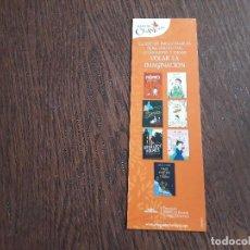 Coleccionismo Marcapáginas: MARCAPÁGINAS, PUNTO DE LIBRO, CLÁSICOS INVOLVIDABLES, ALFAGUARA CLÁSICOS.. Lote 280116823