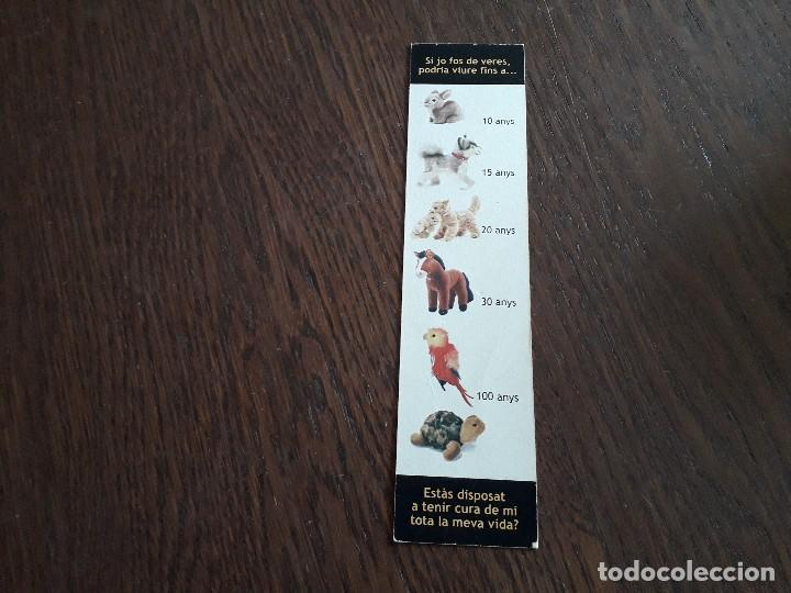 Coleccionismo Marcapáginas: marcapáginas, punto de libro, els animals no son joguines, Baldea, ajuntament de Palma. - Foto 2 - 280118758