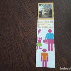 Coleccionismo Marcapáginas: MARCAPÁGINAS, PUNTO DE LIBRO, BIBLIOTECA PÚBLICA NA BATLESSA, AJUNTAMENT D'ARTÀ. MALLORCA.. Lote 280118903