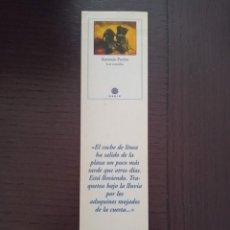 Coleccionismo Marcapáginas: MARCAPÁGINAS. GADIR. ANTONIO FERRES. LOS VENCIDOS. Lote 284560698