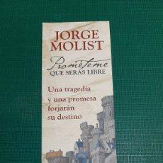 Coleccionismo Marcapáginas: MARCAPAGINAS JORGE MOLIST LIBRERIA O ALMACÉN DO COLISEVM TODO EN PAPEL ANTIGUO. Lote 287762213