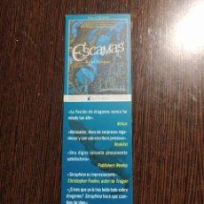 Collezionismo Segnalibri: MARCAPÁGINAS EDITORIAL NOCTURNA. Lote 288227858