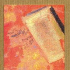 Coleccionismo Marcapáginas: MARCAPAGINAS EDICIONES OBELISCO - LA ANALFABETA. Lote 288906113