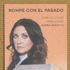 Coleccionismo Marcapáginas: MARCAPAGINAS MAEVA - UNA JAULA DE ORO. Lote 288915383