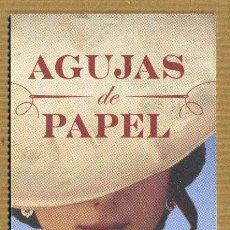 Coleccionismo Marcapáginas: MARCAPAGINAS MAEVA - AGUJAS DE PAPEL. Lote 288915823