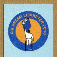 Coleccionismo Marcapáginas: MARCAPAGINAS EDITORIAL LA GALERA - NO LLEGIRE AQUEST LIBRE. Lote 288944433